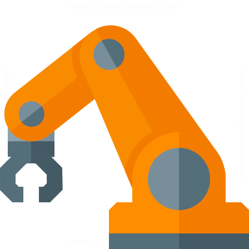 Iconexperience G Collection Industrial Robot Icon