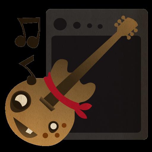 Guitar, Garageband, Garage Band, Rock Icon