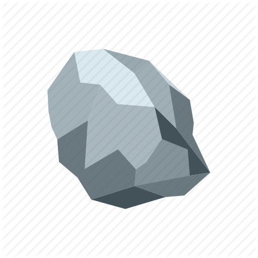 Mineral, Mining, Pure, Rock, Silver, Stone, Treasure Icon
