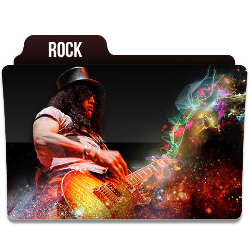 Rock Icon Music Folder Iconset Limav