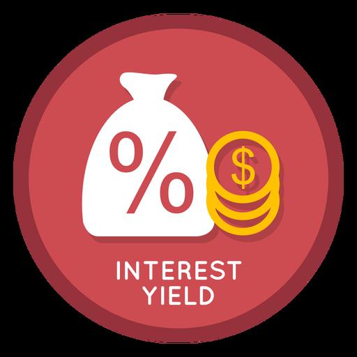 Interest Yield Icon