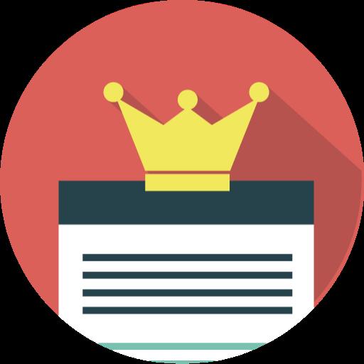 Le Contenu Est Roi, Seo Gratuit De Seo Marketing Icons