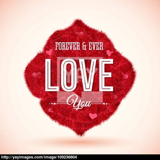 Fluffy Icon For Your Romantic Design Vector Illustration Vector