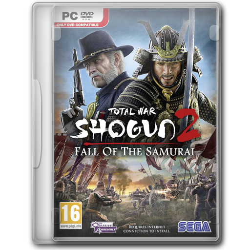 Shogun Total War Fall Of The Samurai Icon Game Cover