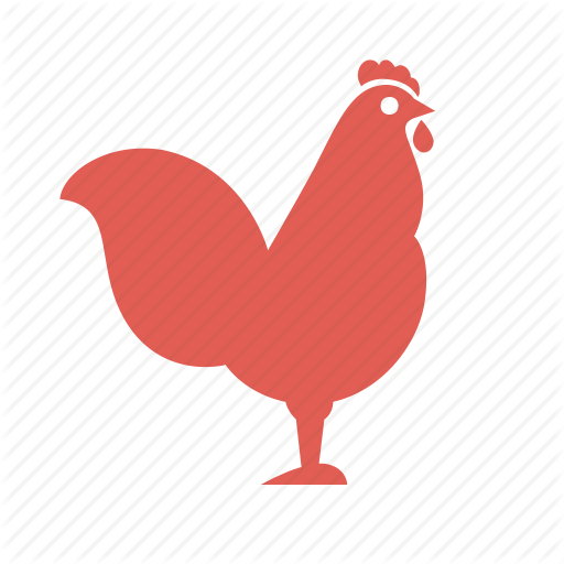 Bird, Carcasses, Cooking, Farming, Food, Poultry, Rooster Icon
