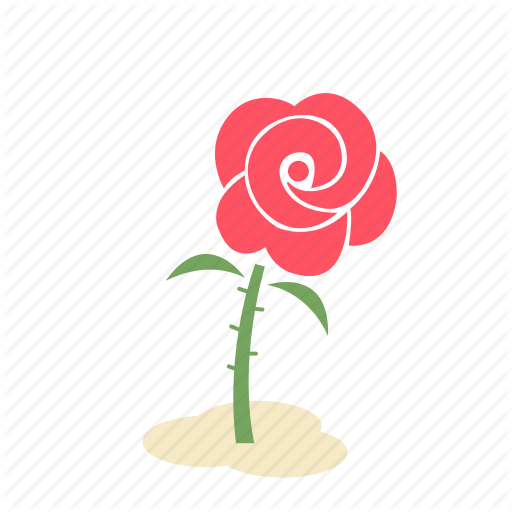 Floral, Flower, Forest, Garden, Nature, Plant, Rose Icon
