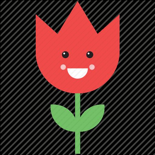 Flower Emoji Text Face