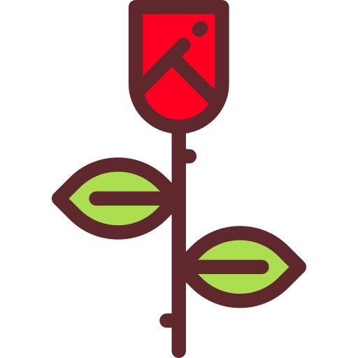 Rose Flower Png Icon