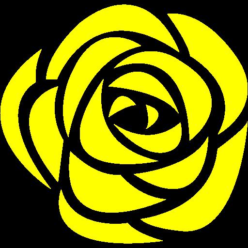 Yellow Rose Icon