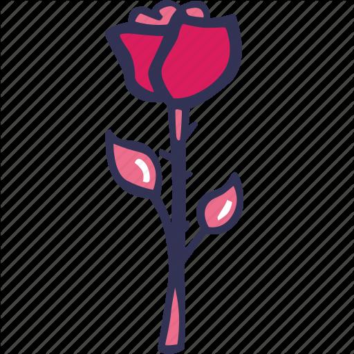 Bloom, Celebration, Flower, Love, Rose Icon