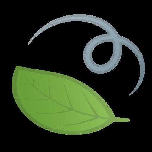 Leaf Fluttering In Wind Icon Noto Emoji Animals Nature Iconset