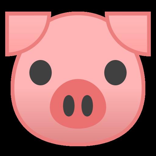 Pig Face Icon Noto Emoji Animals Nature Iconset Google