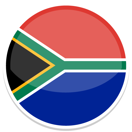 South, Africa, Flag, Flags Icon Free Of Round World Flags Icons