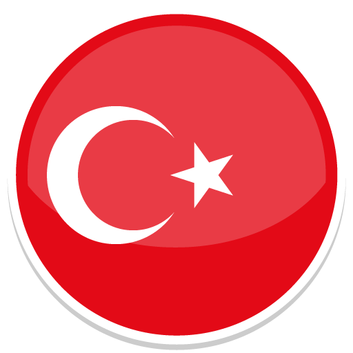 Turkey, Flag, Flags Icon Free Of Round World Flags Icons
