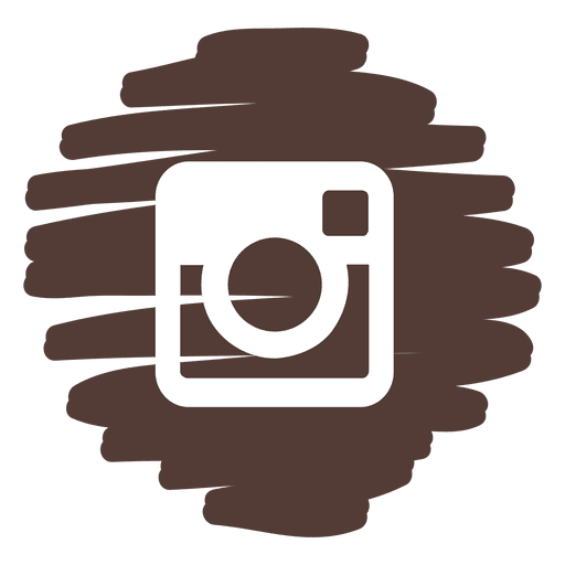 Instagram Distorted Round Icon