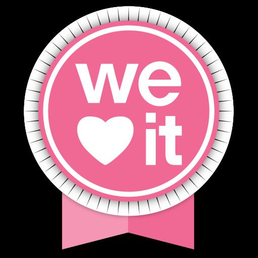 Social, Medias, Round, Ribbons, Weheartit Icon Free Of Round