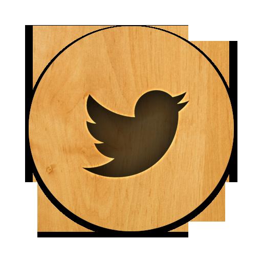 Round, Twitter Icon