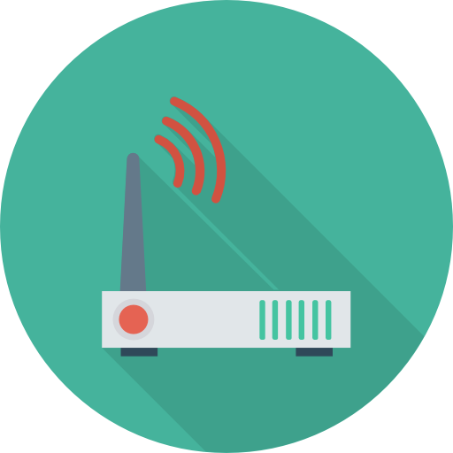 Router Icon Network And Communications Dinosoftlabs