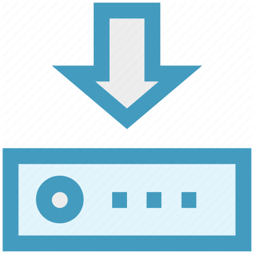 Arrow, Data Science, Hosting, Network, Router Icon