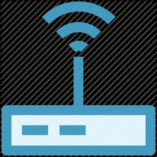 Demodulator, Modem, Router, Wireless Modem, Wlan Router Icon