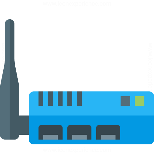 Iconexperience G Collection Wlan Router Icon