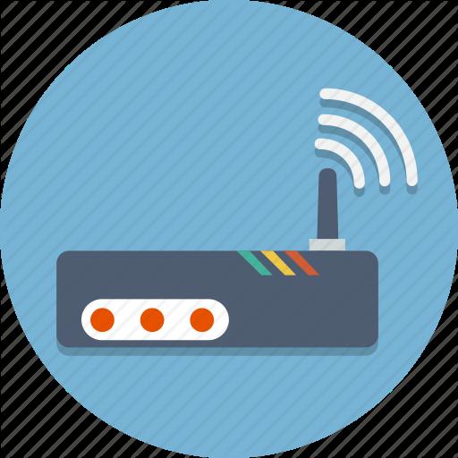 Internet, Router, Wi Fi, Wifi, Wireless Icon