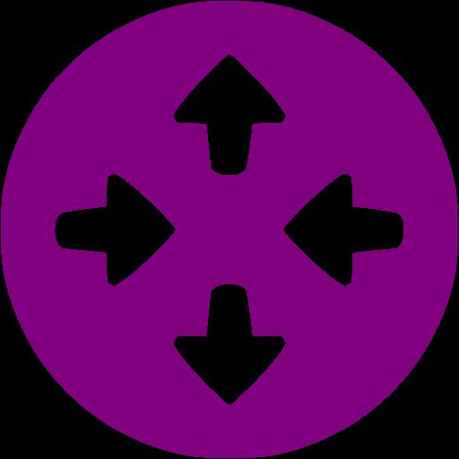 Purple Router Icon
