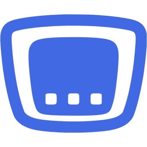 Royal Blue Cisco Router Icon