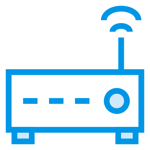 Wifi, Wireless, Router, Connection, Device, Signal, Electronic Icon