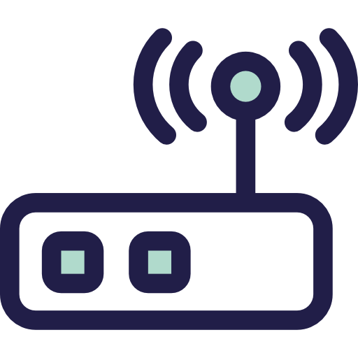 Technology Router Icon
