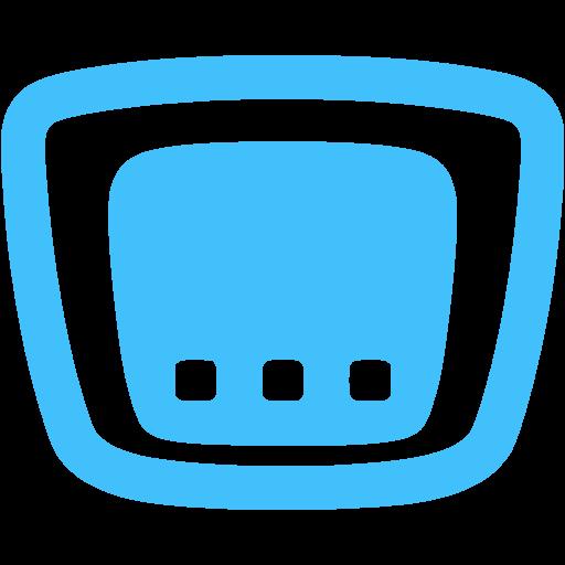 Caribbean Blue Cisco Router Icon