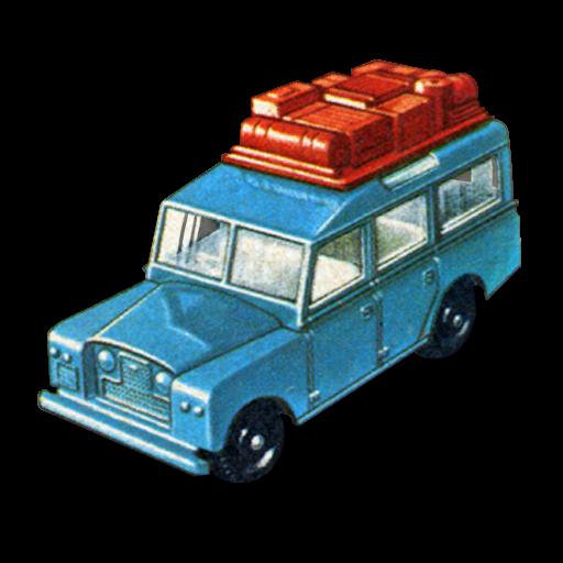 Safari, Land, Rover Icon Free Of Matchbox Cars Icons