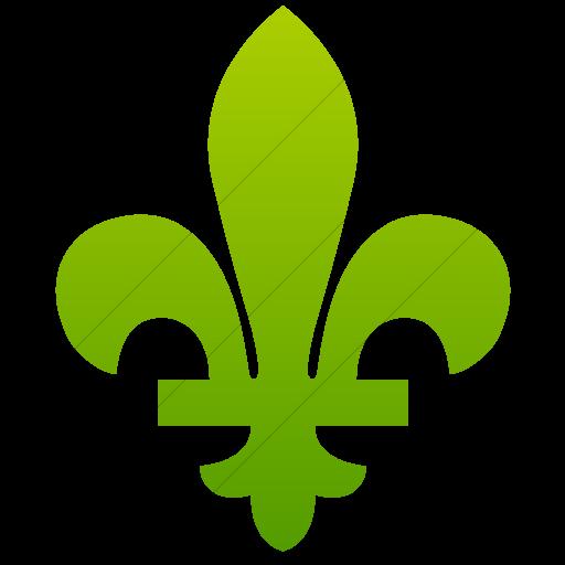 Simple Green Gradient Classica Royal Design Icon