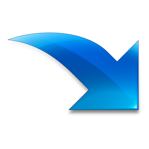 Imported Blue Arrow Icon Free Icons Download