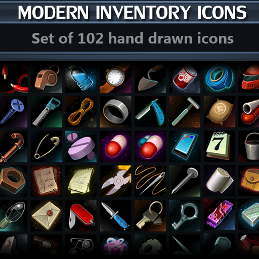 Modern Inventory Icons