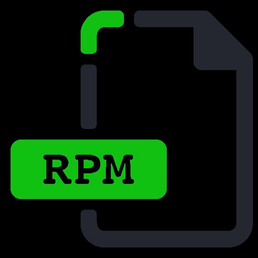 Compressed, Extension, File, Rpm Icon