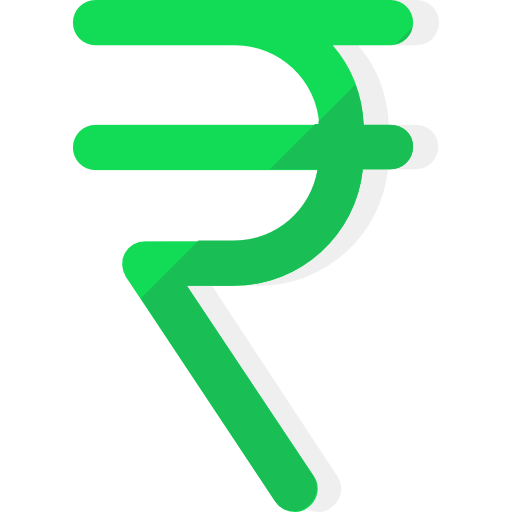 Rupee, Money, India, Indian, Currency, Rs Icon