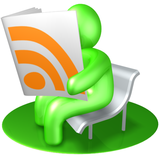 Green Rss Reader Logo Icon Free Icons Download