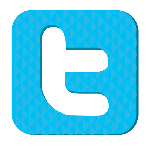 Twitter Rubber Icon
