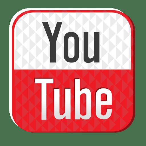 Youtube Rubber Icon