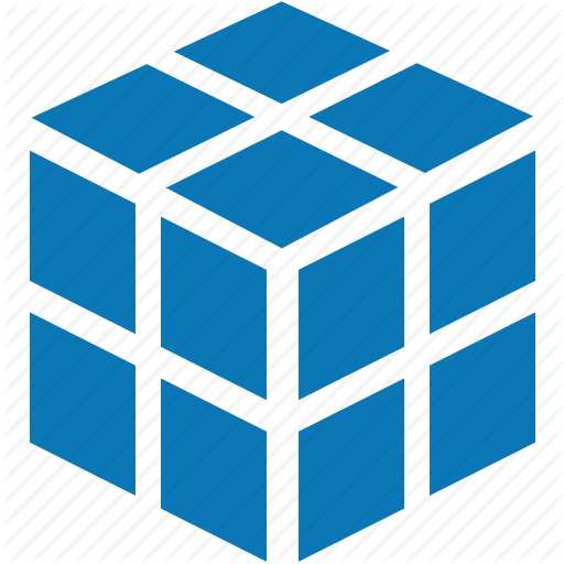 Block, Box, Cube, Data, Database, Registry, Rubik's Cube Icon
