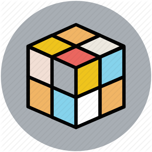 Box, Cubes, Cubes Box, Design, Rubik Cube Icon