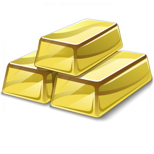 Gold Bars Rubric Icon Forex Technical Analysis Analytics