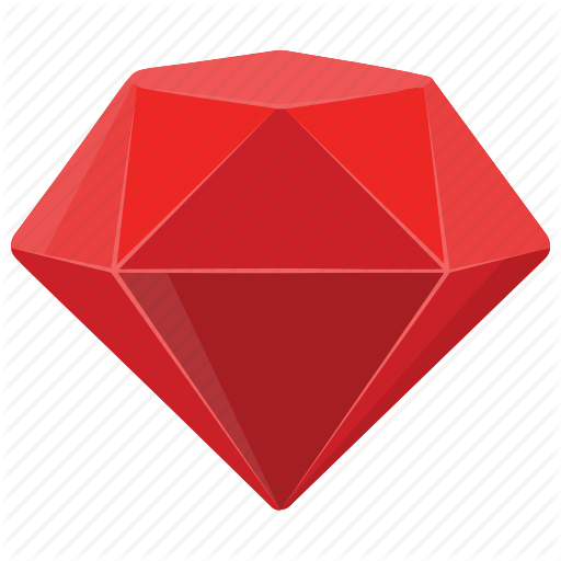 Diamond, Diamond Mine Game, Gem, Red Jewel, Ruby Icon