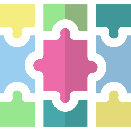Kindergarden, Furniture And Household, Puzzle, Household, Rug Icon