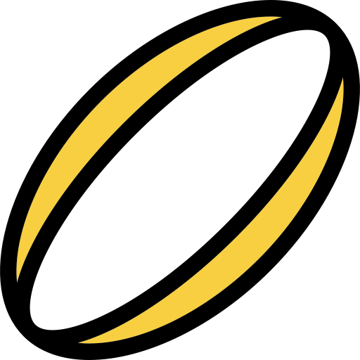 Rugby Icon With Png And Vector Format For Free Unlimited