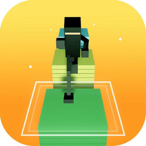 Blocky Ninja Warrior Run