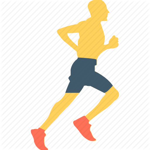 Athlete, Fitness, Jogging, Runner, Running Icon