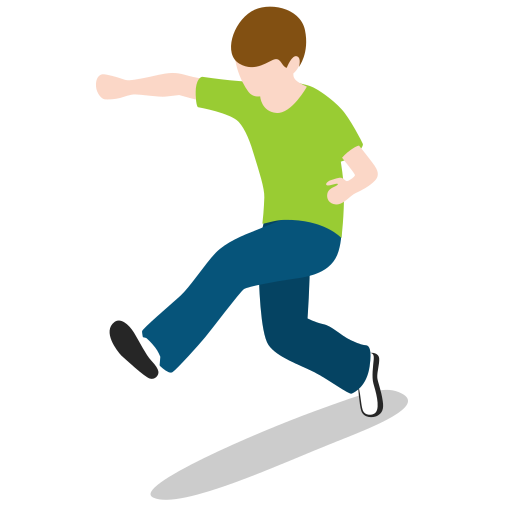Kid, Boy, Running, Jump, Jumping, People, Person Icon Free Of City