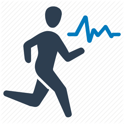 Exercise, Exercising, Fitness, Running, Workout Icon